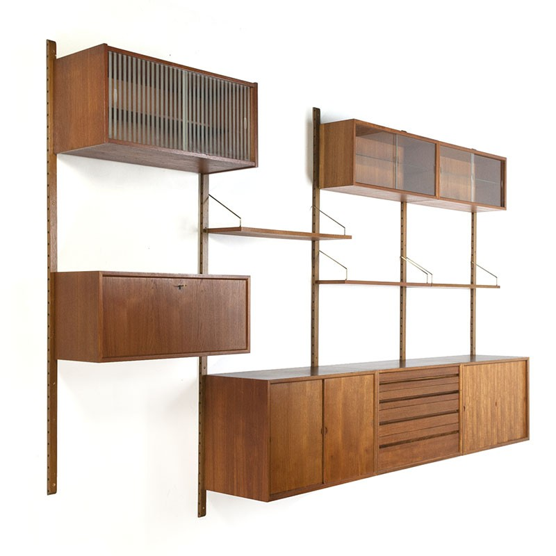 innovative design da535 543fd Vintage Royal system design Poul Cadovius - Retro Studio