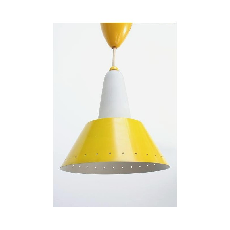 Philips hanging lamp yellow/ glass 2