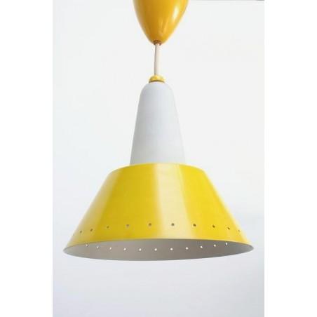 Philips hanging lamp yellow/ glass 2