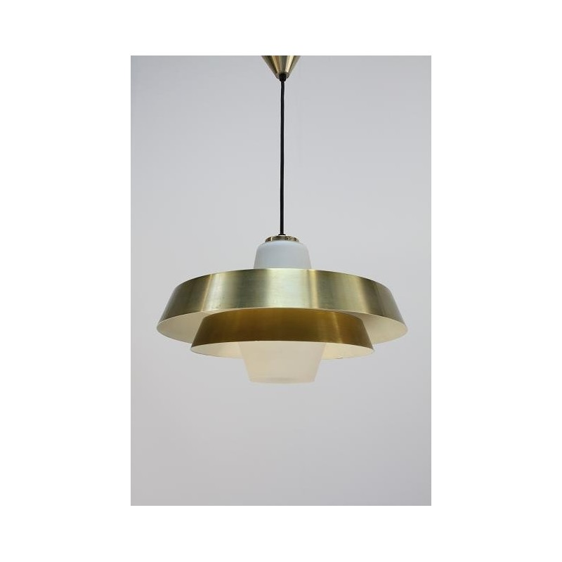 Philips hanging lamp gold/ glass
