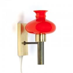 Deense vintage Vitrika design wandlamp