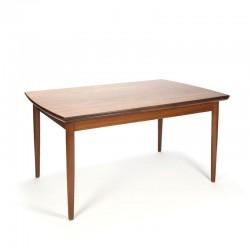 Teak vintage extendable Danish dining table