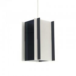 Vintage plexiglazen kubistische hanglamp