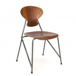 Danish vintage industrial design chair from 1954
