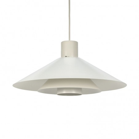 Deense vintage hanglamp Trapez ontwerp Christian Hvidt