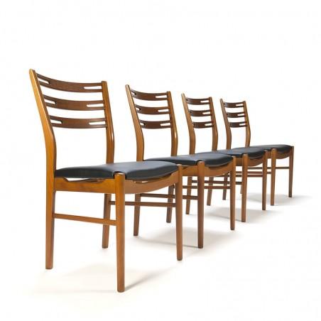 Set van 4 Deense vintage Farstrup stoelen