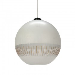 Cut glass vintage ball lamp