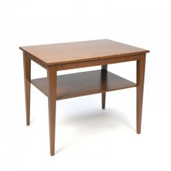 Side table in teak Danish vintage sixties