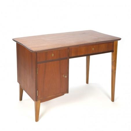 Small model vintage Danish teak desk