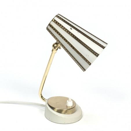 Klein model vintage tafellamp jaren 50