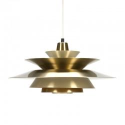 Deense messing vintage hanglamp