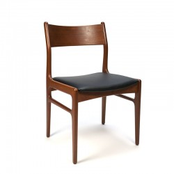 Teakhouten vintage Funder-Schmidt & Madsen stoel