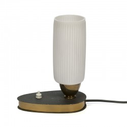 Table lamp vintage fifties small