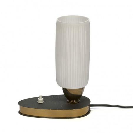 Tafellampje vintage jaren vijftig klein model