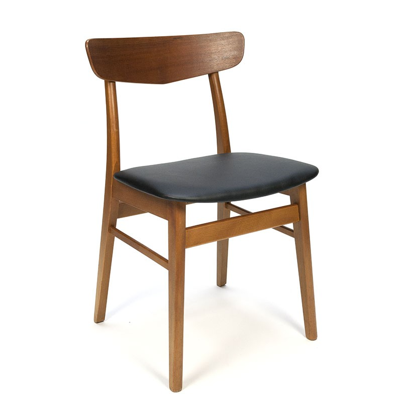 Farstrup Deense vintage eettafel stoel