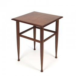 Vintage teak plants and or side table