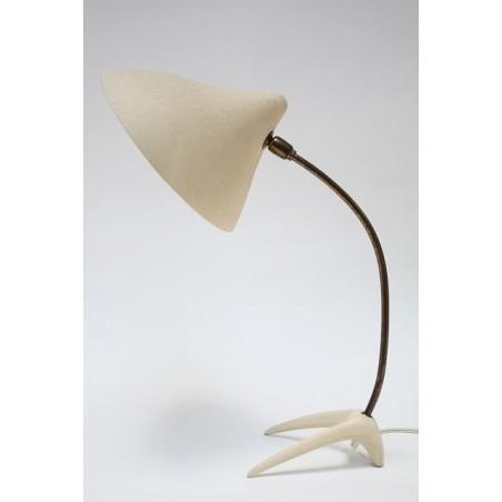 Vintage Jaren 50 tafellamp sierlijke voet