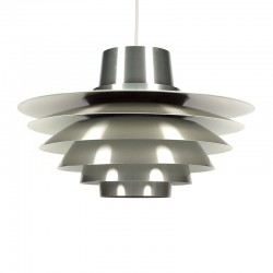 Vintage grote aluminium Verona design Svend Middelboe