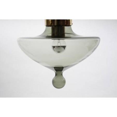 Raak Amsterdam plafondlamp druppel rookglas