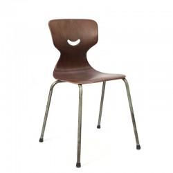Set van 16 vintage Galvanitas stoelen