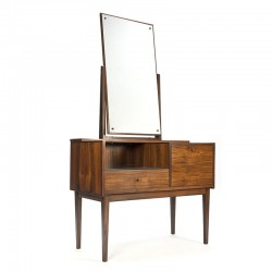 Rosewood vintage Danish dressing table