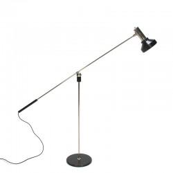 Vintage Magneto floor lamp design H. Fillekes