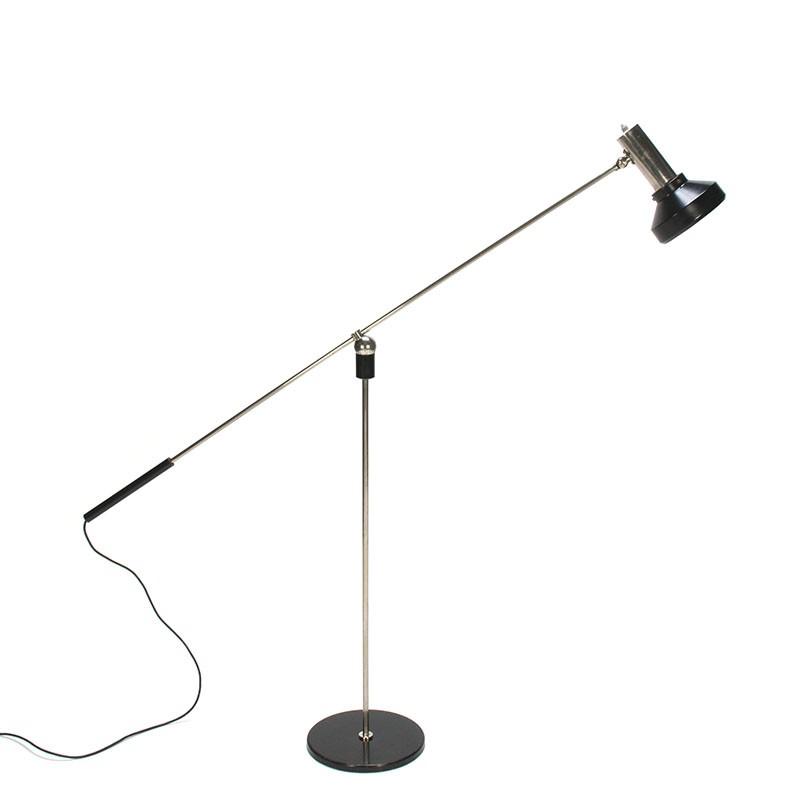 Vintage Magneto vloerlamp ontwerp H. Fillekes voor Artiforte