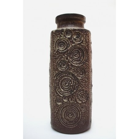 Large West-Germany vase brown retro