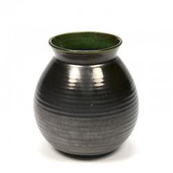 Mobach Utrecht vintage earthenware vase
