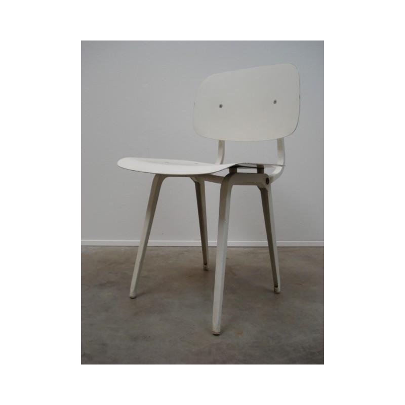 Revolt chair from Friso Kramer white