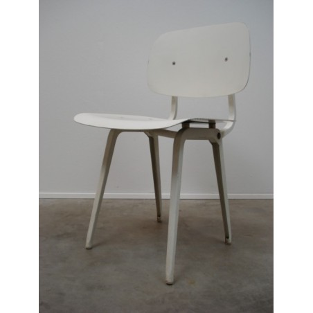 Revolt chair from Friso Kramer white
