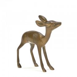 Vintage sculptuur van een hertje