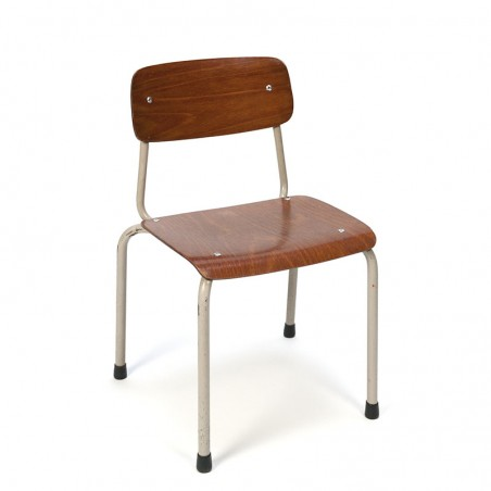 Small vintage children's school chair brand Marko