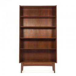 Vintage teak bookcase design Johannes Sorth