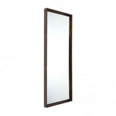 Deense palissanderhouten vintage spiegel