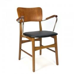Desk chair with armrest Danish vintage design