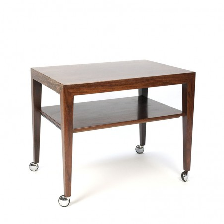 Vintage serving trolley design Severin Hansen