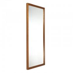 Vintage grote spiegel van Aksel Kjersgaard model 145