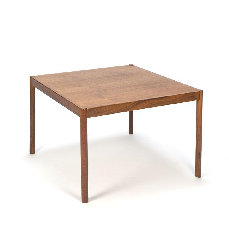 Teak vintage Danish square coffee table