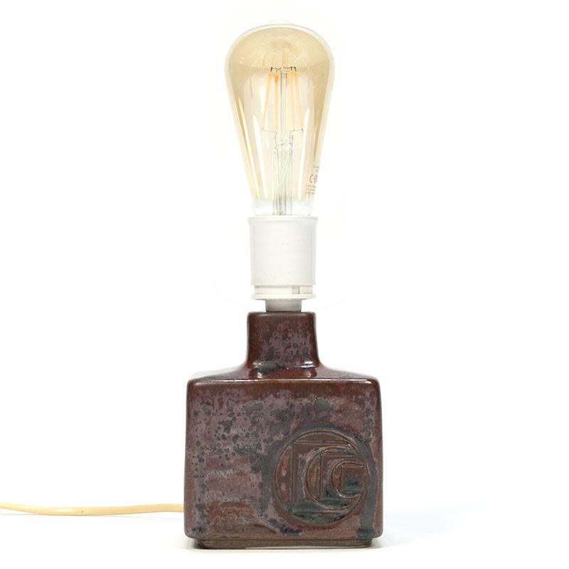 Danish vintage table lamp design Desiree Stentoj