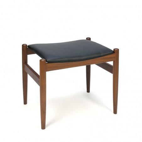 Danish vintage design footstool or hocker
