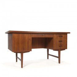 Desk in teak vintage Danish design