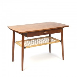 Danish coffee or side table with drawer vintage