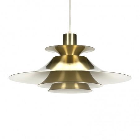 Vintage brass Danish hanging lamp