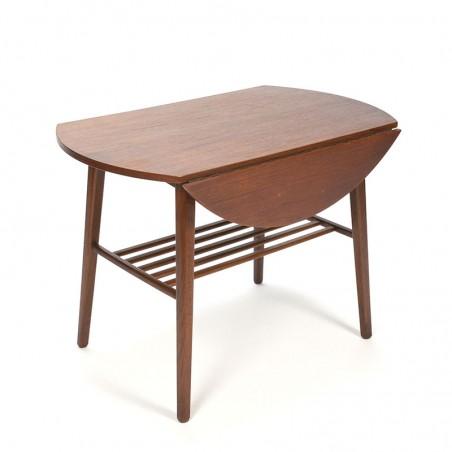 Vijftiger jaren vintage Deense klapoor tafel