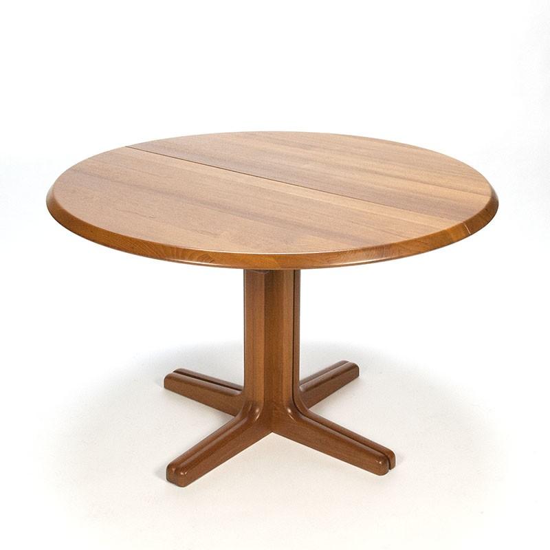 Uittrekbare Tafel Rond.Uittrekbare Eettafel Simple Eettafel Neva Tot Cm Breed Grijs Eiken