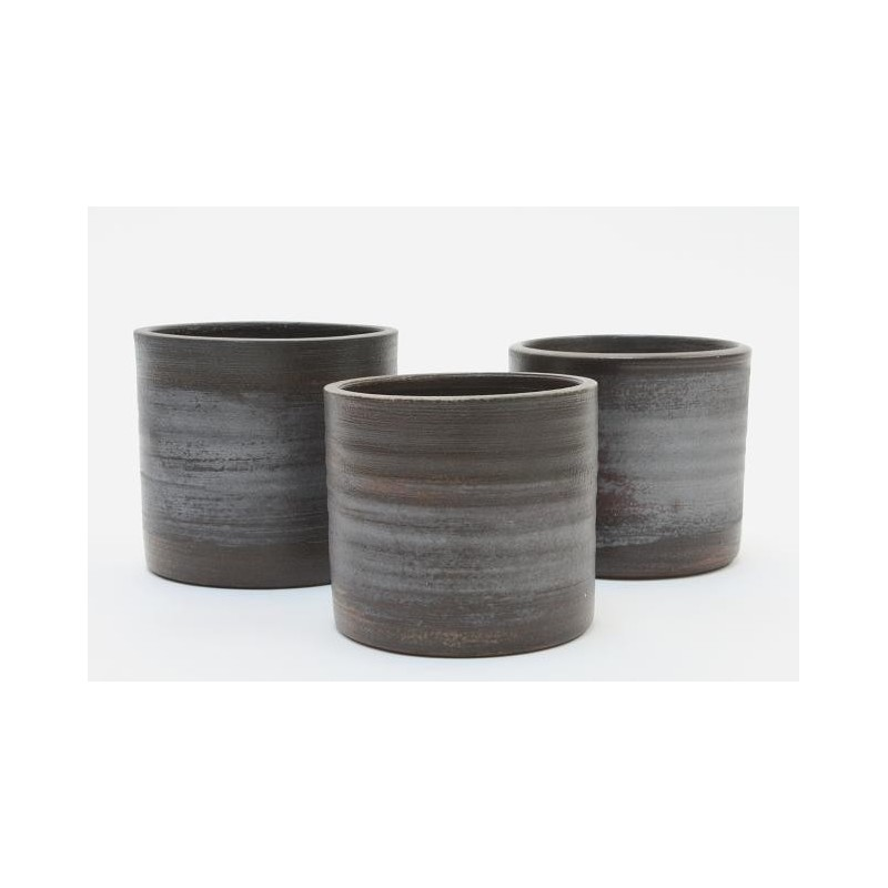 Mobach set of 3 flower pots