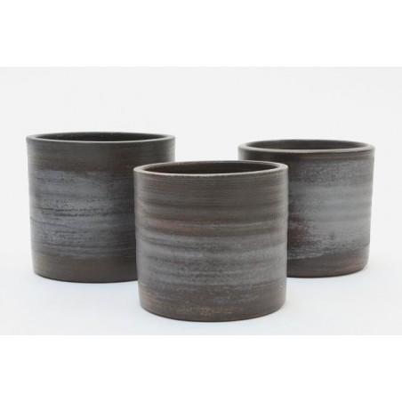 Mobach set of 3 flower pots