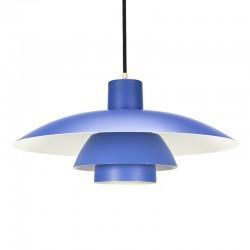 Blue vintage PH 4/3 lamp design Poul Henningsen