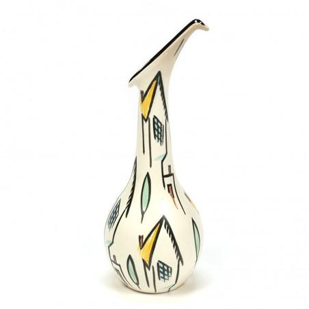 Albert Hallam vintage design vase series Houses